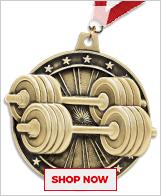 Bodybuilding Medals