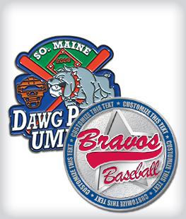Custom Printed Baseball Pins