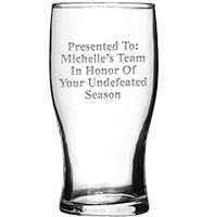 Fantasy Football Beer Glass 19.5oz
