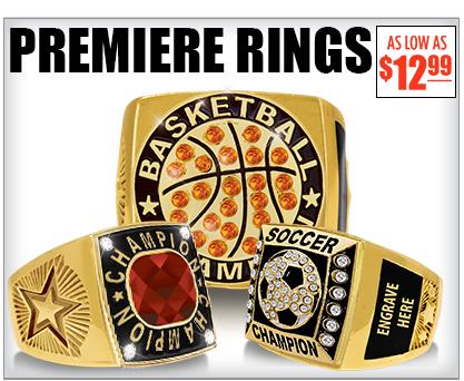 Premiere Engravable Rings