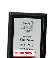 New Year Plaques