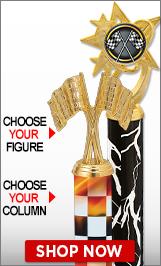 Racing Column Trophies