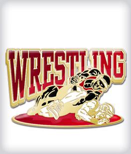 Custom Printed Wrestling Pins