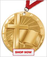 Baptism Medals
