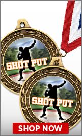 Shot Put Medal