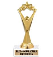 "7.5"" Victor 5 Star Trophy"