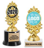 Star Stream Insert Trophy