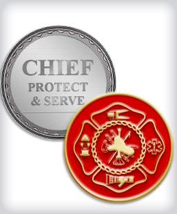 Firefighter Coins