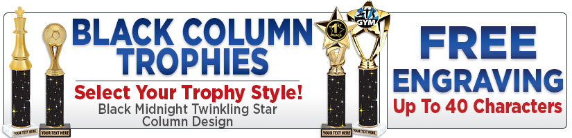 Black Column Trophies