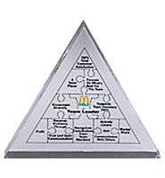 Triangle Acrylic Embedments