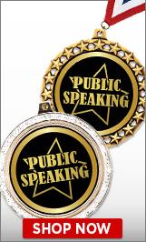 Public SpeakingMedals