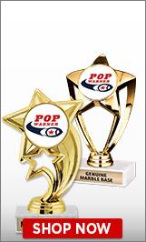 Pop Warner Football Trophies