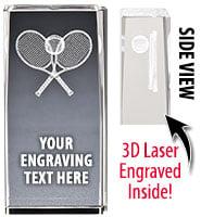 Tennis Laser Crystal