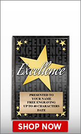 Excellence Awards Plaque