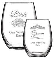 Soiree Stemless Wine Glasses