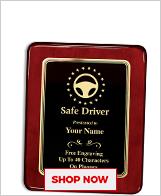 Safe Driver Plaques