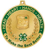 """2 1/2"""" 4-H Sheep Medal"""