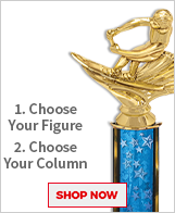 Water Skiing Column Trophies