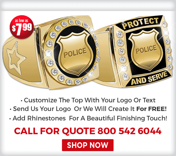 CUSTOM POLICE RINGS