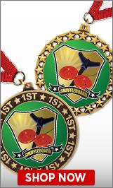 Shuffleboard Medals