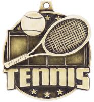 "2"" Tennis Court Medals"