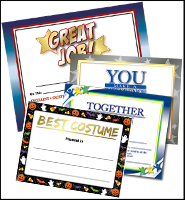 Recognition Certificates