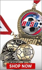AYSO Medals