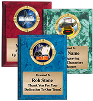 Color Marbleized Vertical Insert Plaques