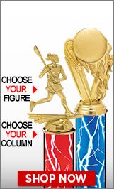 Lacrosse Column Trophies