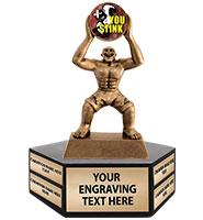 Fantasy Monster Hexagon Base Perpetual Trophy