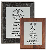 Silver Metallix Plaques