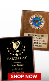 Earth Day Plaques
