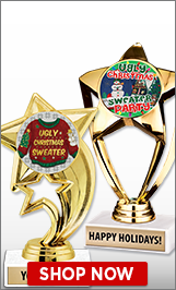 Ugly Sweater Trophies