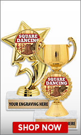 Square Dancing Trophies