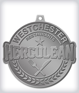 Antique Silver Custom Community Event Medals