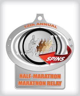 Custom Spin Medals