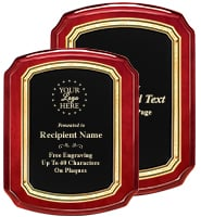 Baron Rosewood Plaques
