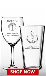 Golf Glassware