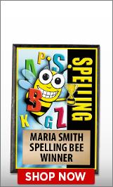 Spelling Plaque