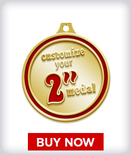 """Custom 2"""" Medal"""