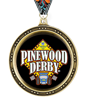 Legend Pinewood Derby® Insert Medals