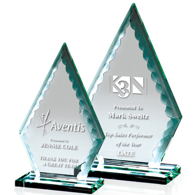 Greenwich Arrowhead Crystal Awards