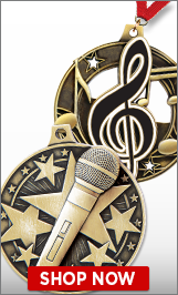 Microphone Medals