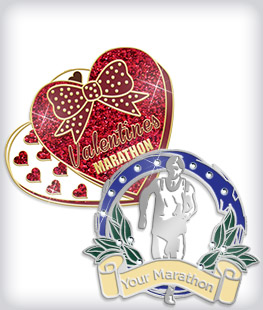 Custom Specialty Marathon Pins