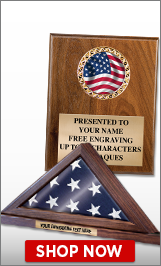 American Flag Plaques