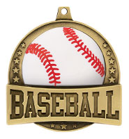 "2 1/4"" FX Baseball Medals"