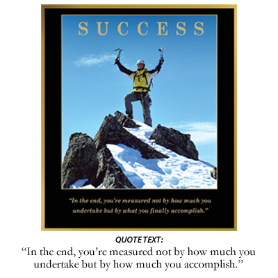 Success Inspiration Plaque