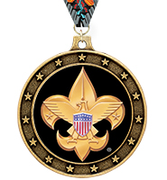 Universe Star Boy Scout™ Insert Medal
