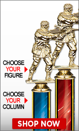 Paintball Column Trophies
