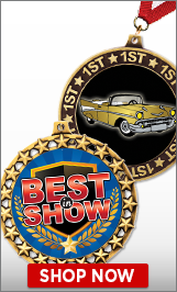 Antique Car Shows Trophies